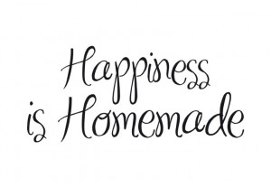 Wall Decal - Happiness is Homemade
