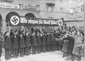 Dissolution of Austrian Parliament Supported by Austrian Nazi Party
