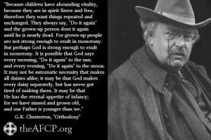 Chesterton quote.