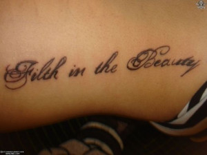 Tattoo Ideas: Words & Sayings IV