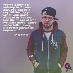 Andy Mineo Quotes Tumblr Part of andy mineo's rap in