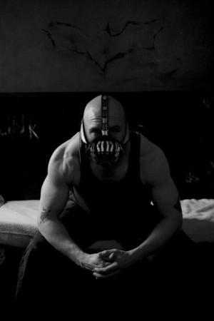 ... batman The Dark Knight Rises healthy Tom Hardy fitness bane Physique