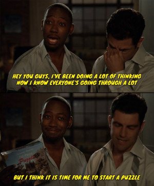 Winston from New Girl,