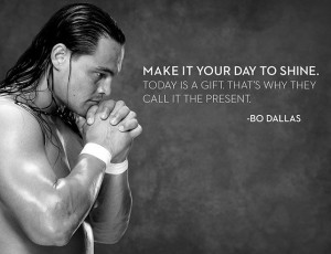 Bo Dallas helps the WWE Universe find their inspiration with his Bo ...
