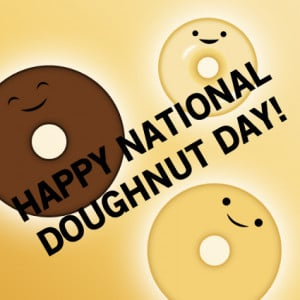 National Doughnut Day is Friday, June 3rd: Free Donuts
