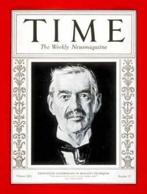 Neville Chamberlain - Apr. 25, 1932 - Great Britain ...