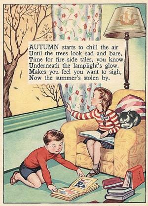 Vintage Autumn Poem