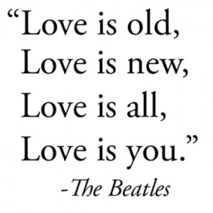 Beatles Quotes on Love