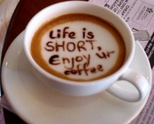 coffee, cup, favim, foam, google, photography, quote, tumblr