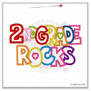 These are the sayings grade rocks applique Pictures
