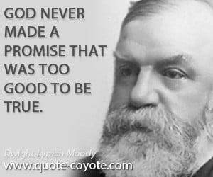 dwight lyman moody quotes a good example is far better than a good