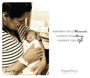 preemie quote inspiration for the nicu inspirational wall quotes ...