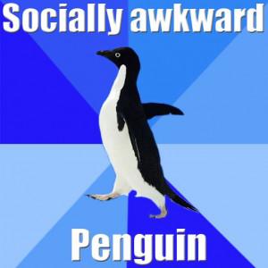 Socially Awkward Penguin Connect