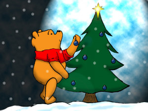 winnie the pooh christmas wallpaper backgrounds winnie the pooh ...