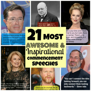 21 Awesome and Inspirational Commencement Speeches 1 of 22