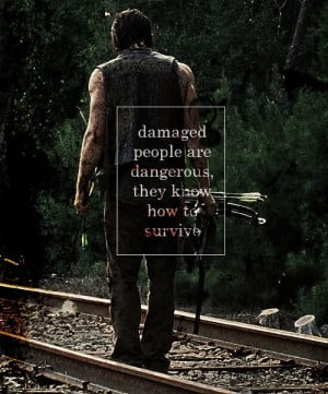 Walking Dead Daryl Dixon Quotes