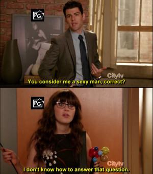 Schmidt: You consider me a sexy man, correct?