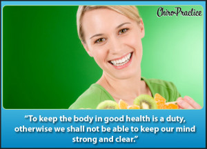 Healthy Lifestyle quote #2