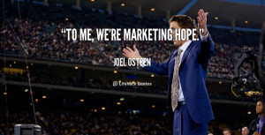 Positive Quotes By Joel Osteen