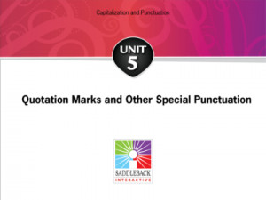 ... Punctuation-Quotation Marks: Direct and Indirect Quotations Price USD
