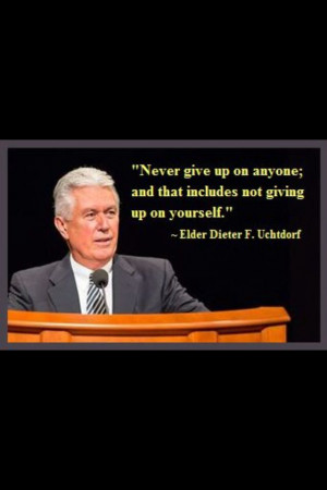 Love President Uchdorf!