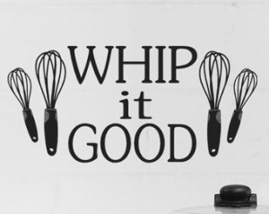 Popular items for whip it good on Etsy