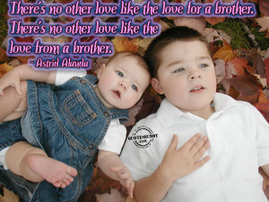 Brother Little Sister Quotes