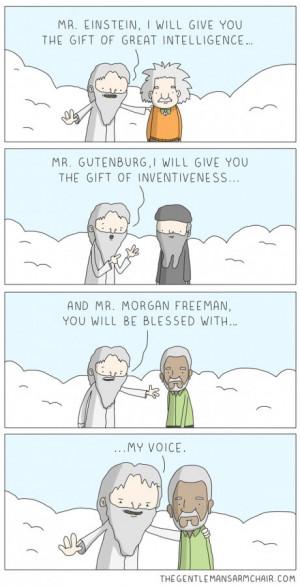 Morgan Freeman's Voice
