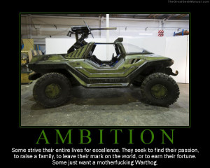 Motivational Poster: Ambitions