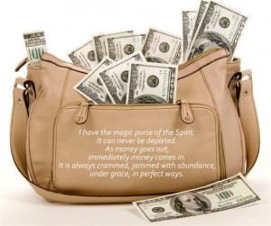 money- Quote: Florence Scovel Shinn