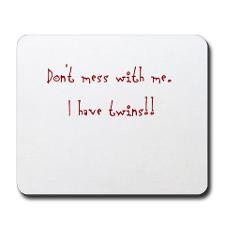 Don't mess with me Mousepad for