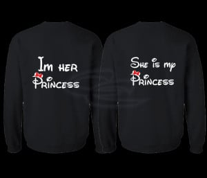 ... Married With Mickey Lesbian Shirts Her Princess She's My Princess