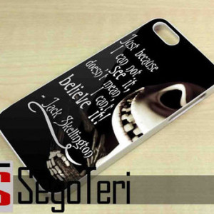 The Nightmare Before Christmas Quotes, Jack Skellington - iPhone 4/4S ...