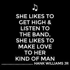 Country Music Lyrics Quotes Hank Williams Jr ~ Hank Williams jr on ...