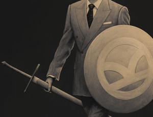 Gentleman Knight - Kingsman Poster