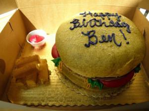 Super birthday cakes