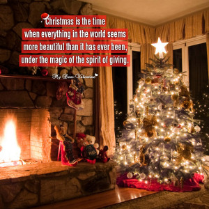 Quote About Christmas Quotes Spirit