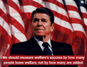 we should measure welfare s success by how many people leave welfare ...