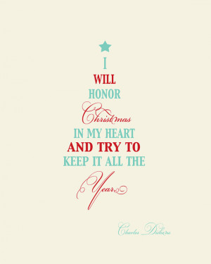 holidays quote i will honor holidays