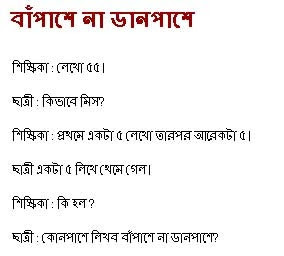 Bengali Funny SMS 1