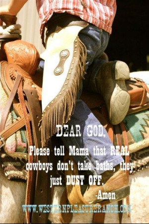 little cowboy quote