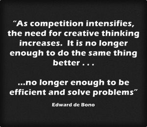 ... enough to be efficient and solve problems