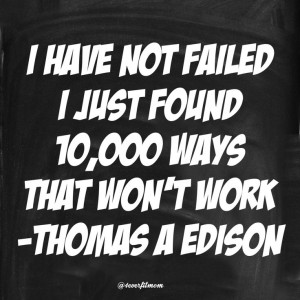 ... up, failure is not an option!Failure, Quotes, Never Give Up, Options
