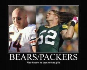 Bears vs. Packers...