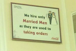 funny Coca Cola ad married men