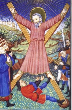 Saltire, Saint Andrew's Cross, or crux decussata