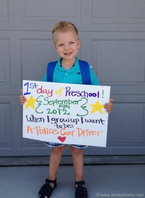 First Day Preschool Quot...