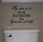 Humorous, Removable Vinyl Wall Words & Funny Inspirational Quote ...