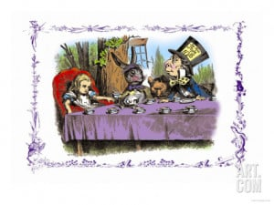 Alice in Wonderland: A Mad Tea Party Premium Poster