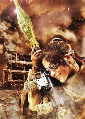 ... attack titan Hange Zo Attack on Titan Live Action Movie Character